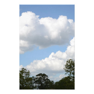 Clouds and Blue Sky Stationery