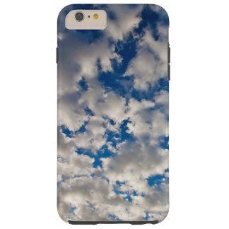 Clouds and blue sky tough iPhone 6 plus case