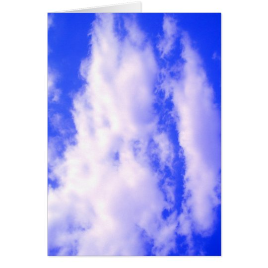 Clouds and Clear Blue Sky Card