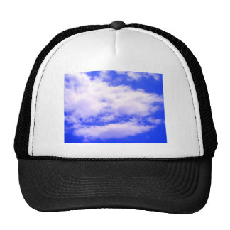 Clouds and Clear Blue Sky Trucker Hat