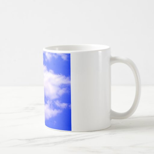 Clouds and Clear Blue Sky Mugs