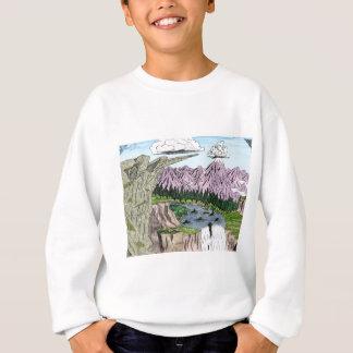 """Clouds and Cliffs"" Sweatshirt"