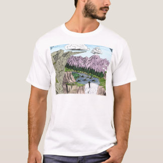"""""""Clouds and Cliffs"""" T-Shirt"""