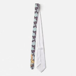 Clouds and Giraffes Tie