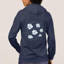 Clouds And Methane Molecules Blue Chemistry Geek Hoodie