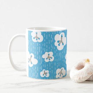 Clouds And Methane Molecules Chemistry Blue Geek Coffee Mug
