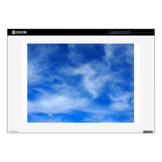 Clouds and sky are taking a picture skin for laptop