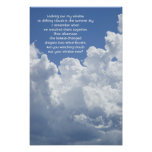 Clouds and Sky Poster