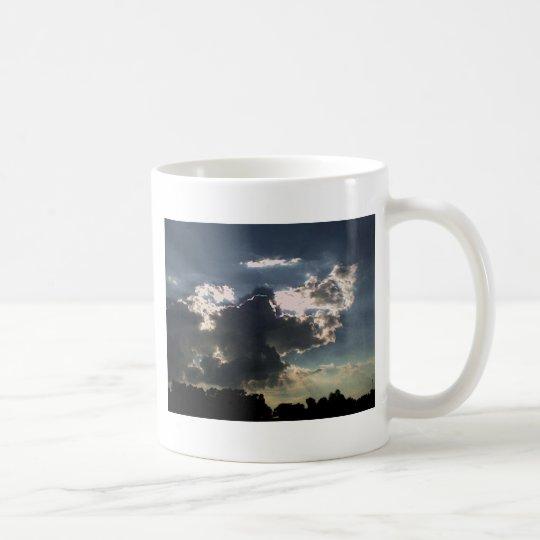 Clouds and  Sun Coffee Mug