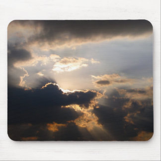 Clouds and Sun Mousepad