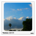 clouds and trees photograph wall decor