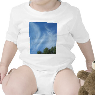 Clouds and trees bodysuits