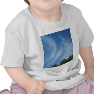 Clouds and trees tshirt