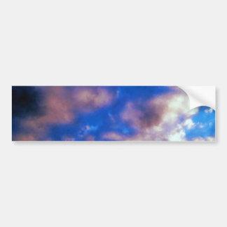 Clouds Artwork Bumper Sticker
