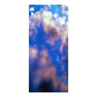 Clouds Artwork Rack Card