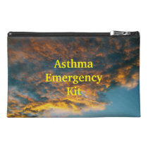 Clouds Asthma Emergency Kit Travel Bag