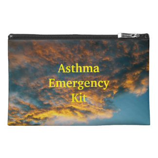 Clouds Asthma Emergency Kit Travel Bag