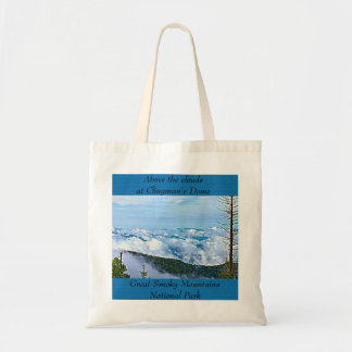 Clouds at Clingman's Dome, Smoky Mountains NP Tote Bag