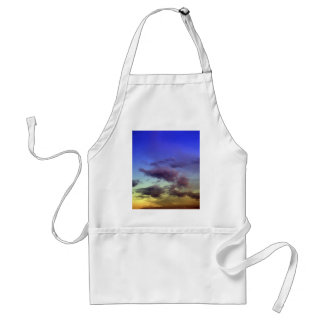 Clouds at Sunset Adult Apron