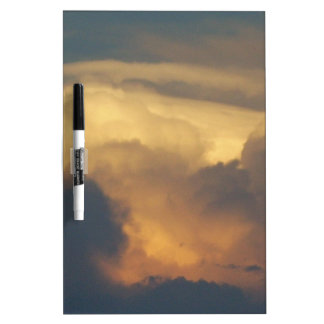 Clouds at Sunset Cloud Photography Gold Clouds Dry Erase White Board