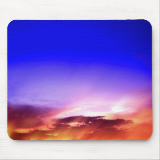 Clouds at Sunset Mouse Pad