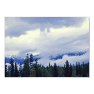 """Clouds At The Heights 5"""" X 7"""" Invitation Card"""