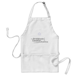 Clouds at your barbeque standard apron