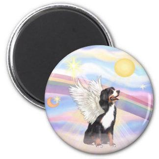 Clouds - Bernese Mountain Dog Angel Refrigerator Magnet