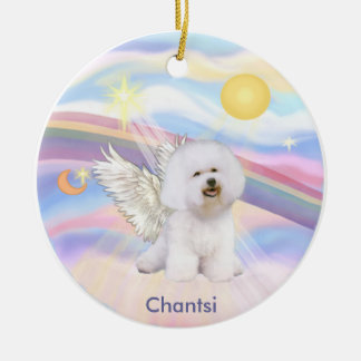 Clouds - Bichon Frise Angel Chantsi Ornaments