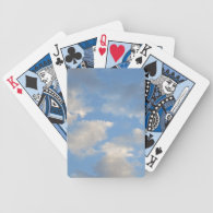 Clouds Bicycle Playing Cards