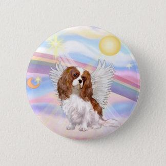 Clouds - Blenheim Cavalier Angel Pinback Button