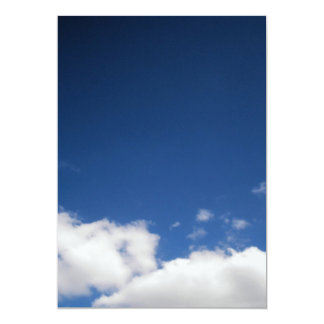 Clouds & Blue Sky Invitation
