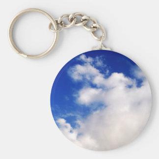 Clouds & Blue Sky Keychain