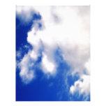 Clouds & Blue Sky Letterhead Design