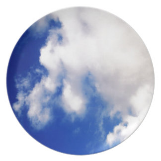 Clouds & Blue Sky Melamine Plate