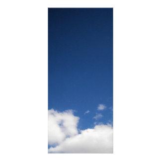 Clouds & Blue Sky Rack Card