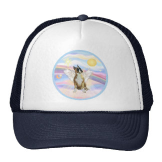 Clouds - Boxer ANgel (cropped ears #1) Trucker Hat