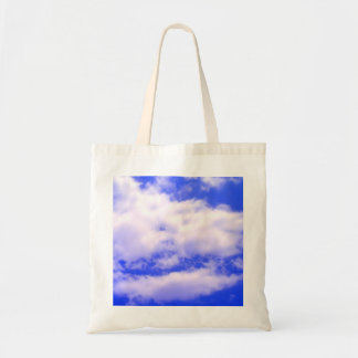 Clouds Budget Tote Bag