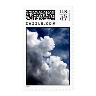 CLOUDS BUILDING POSTAGE