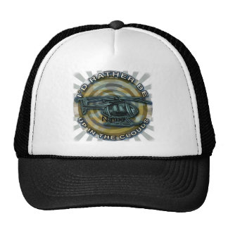 Clouds Camo Helicopter Trucker Hat