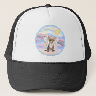 Clouds - Chihuahua Angel (light red) Trucker Hat