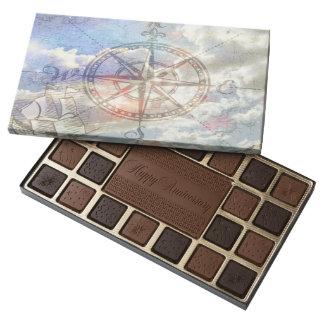 Clouds Compass 45 Piece Box Of Chocolates