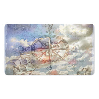 Clouds Compass Business Cards