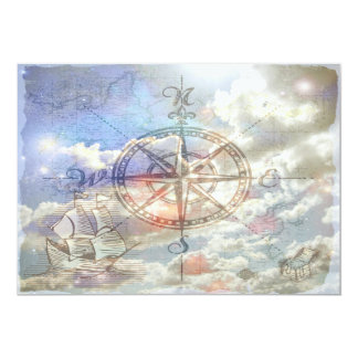 Clouds Compass Card
