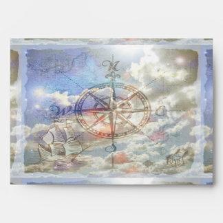Clouds Compass Envelope