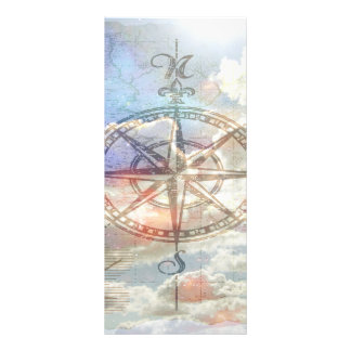 Clouds Compass Rack Card