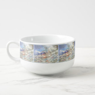 Clouds Compass Soup Mug