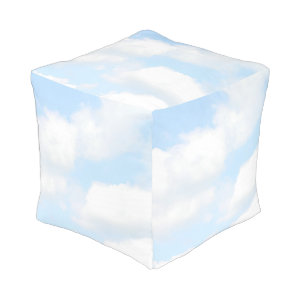 Clouds Cube Pouf