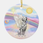 Clouds - Dalmatian Ornament