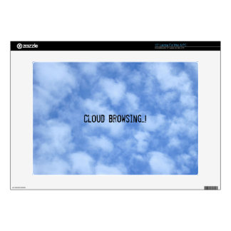 "Clouds Decals For 15"" Laptops"